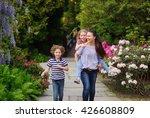 Picturesque Garden. Family...