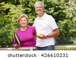 portrait of senior tennis...   Shutterstock . vector #426610231