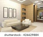 white living room interior in... | Shutterstock . vector #426629884