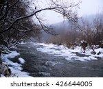 winter river   Shutterstock . vector #426644005