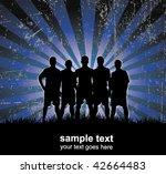football team | Shutterstock .eps vector #42664483