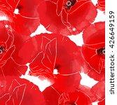 Imprints Bright Poppies....