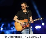 Small photo of KISSIMMEE, FL-MAR 20: Singer Eric Church performs onstage at the Runaway Country Music Fest at Osceola Heritage Park on March 20, 2016 in Kissimmee, Florida.