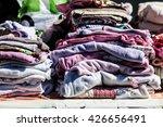 display of second hand baby... | Shutterstock . vector #426656491
