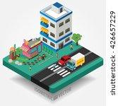 easy to edit vector... | Shutterstock .eps vector #426657229