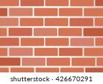 wall of bricks background art... | Shutterstock .eps vector #426670291
