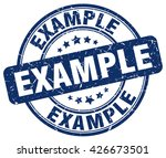 example. stamp | Shutterstock .eps vector #426673501