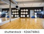 pilate balls arranged in... | Shutterstock . vector #426676861