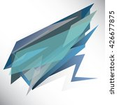polygon banners abstract... | Shutterstock .eps vector #426677875