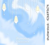 ramadan kareem festive... | Shutterstock .eps vector #426695674