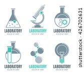 laboratory design elements ... | Shutterstock .eps vector #426702631