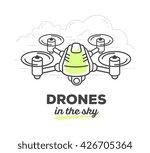 vector illustration of creative ... | Shutterstock .eps vector #426705364