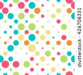 Seamless Polka Dot Pattern Wit...