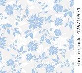 seamless flowers pattern | Shutterstock .eps vector #426710971