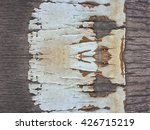 Old Bark Wood Texture Background