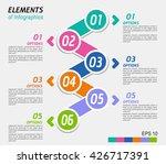 illustration infographic... | Shutterstock .eps vector #426717391