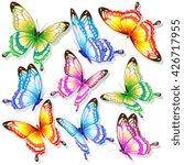 butterflies design | Shutterstock . vector #426717955
