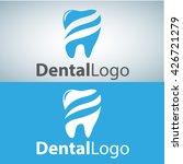 dental logo 9 | Shutterstock .eps vector #426721279