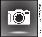 photo camera sign icon  vector... | Shutterstock .eps vector #426722431