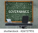 green chalkboard with the text... | Shutterstock . vector #426727951