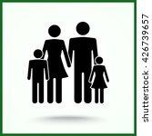 family sign icon  vector... | Shutterstock .eps vector #426739657