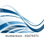 vector abstract background with ... | Shutterstock .eps vector #42674371