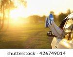 summer road trip car vacation...   Shutterstock . vector #426749014