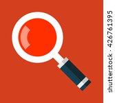 search magnifying glass icon in ...
