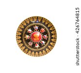 Small photo of gong AEC isolated on white background