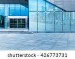 buildings and clean road... | Shutterstock . vector #426773731