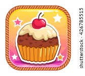 app icon with cute sweet...
