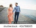 wedding couple  bride  groom... | Shutterstock . vector #426788005