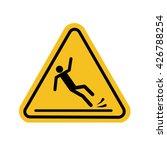 wet floor sign | Shutterstock .eps vector #426788254