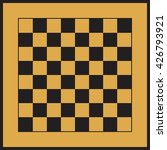 checkered simple brown and... | Shutterstock .eps vector #426793921