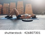 side view shot of fitness woman ... | Shutterstock . vector #426807301