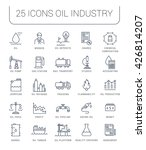 set vector line icons with open ... | Shutterstock .eps vector #426814207
