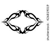 tattoo. stencil. pattern.... | Shutterstock .eps vector #426819019