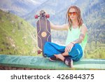 portrait of cool  funny... | Shutterstock . vector #426844375