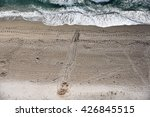 Aerial View Of The Tracks From...