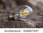 led light bulb | Shutterstock . vector #426847447