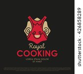 vector royal cooking logo.... | Shutterstock .eps vector #426858289