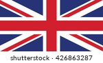 flag of the united kingdom | Shutterstock .eps vector #426863287