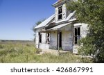 An Old Abandoned House In Post...