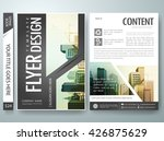 flyers design template vector.... | Shutterstock .eps vector #426875629