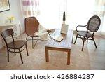 modern living room interior.... | Shutterstock . vector #426884287