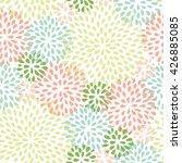 abstract splash drops summer... | Shutterstock .eps vector #426885085