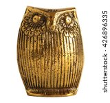 bronze statuette of an owl... | Shutterstock . vector #426896335