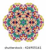 vector triangle pattern... | Shutterstock .eps vector #426905161