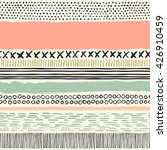 vector seamless pattern with... | Shutterstock .eps vector #426910459