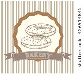 isolated vintage banner with a... | Shutterstock .eps vector #426914845